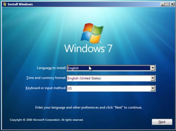 HOW TO INSTALL WINDOWS 7 WITH THE DVD