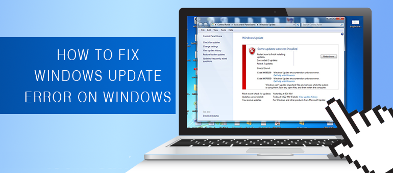 Fix Windows Update Error Code 80073712