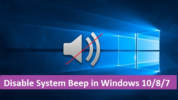 Disable System Beep in Windows