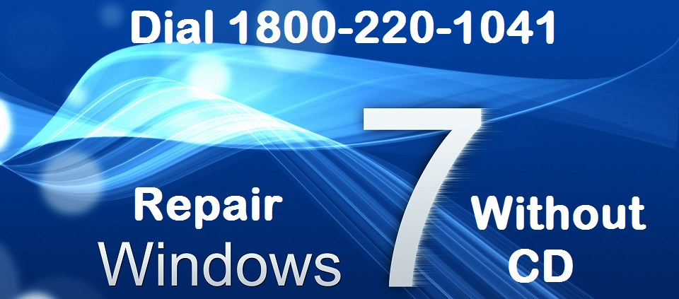 repair windows 7 without CD